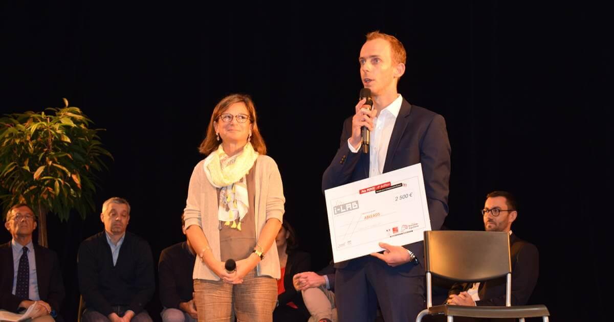 Cérémonie du prix PÉPITE à Poitiers
